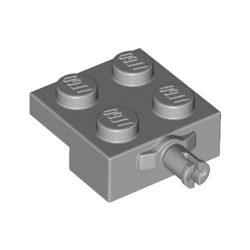 Lego BEARING ELEMENT 2X2, SINGLE, Light grey