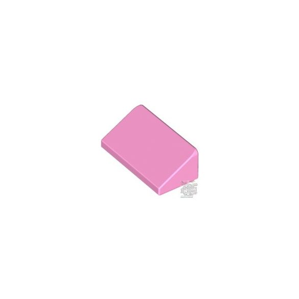 Lego ROOF TILE 1 X 2 X 2/3, ABS, Rose