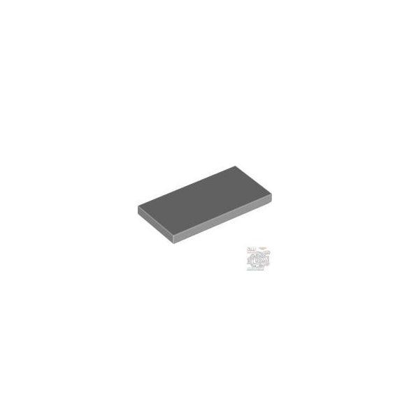 Lego Flat Tile 2X4, Light grey