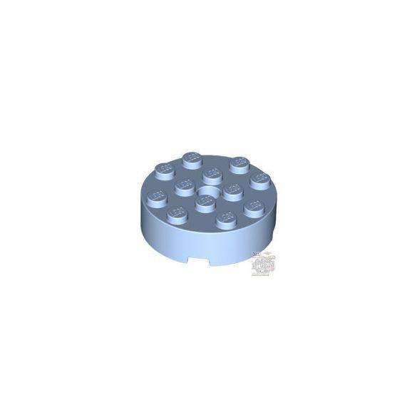 Lego BRICK 4X4 ROUND W. Ø4.9 W. KL., Light royal blue