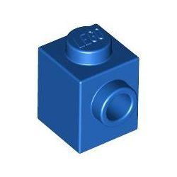 Lego BRICK 1X1 W. 1 KNOB, Bright blue