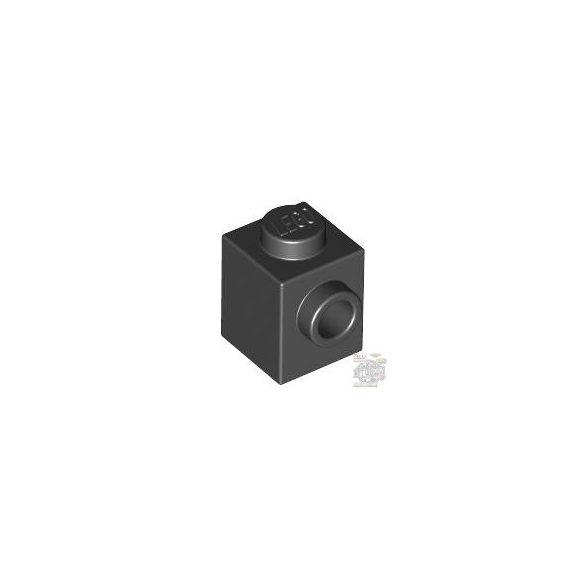 Lego BRICK 1X1 W. 1 KNOB, Black