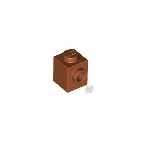 Lego BRICK 1X1 W. 1 KNOB, Dark orange