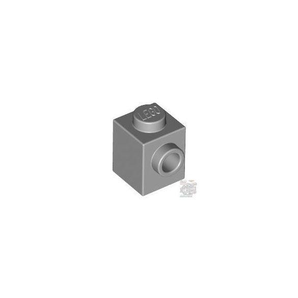 Lego BRICK 1X1 W. 1 KNOB, Light grey