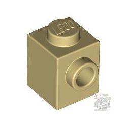 Lego BRICK 1X1 W. 1 KNOB, Tan