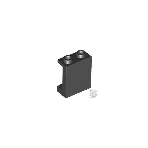 Lego Wall element 1X2X2, Black