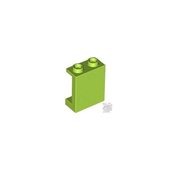Lego WALL ELEMENT 1X2X2, Bright yellowish green