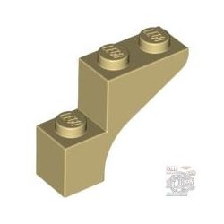 Lego Brick With Bow 1X3X2, Brick yellow / beige