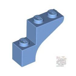 Lego Brick With Bow 1X3X2, Medium blue