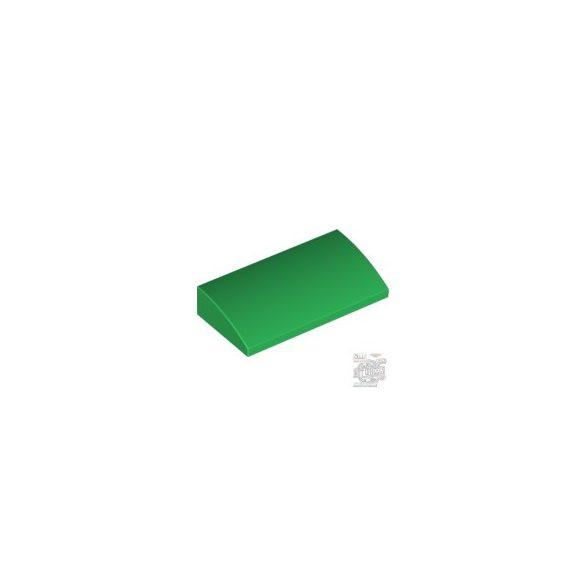 Lego PLATE W. BOW 2x4x2/3, Green