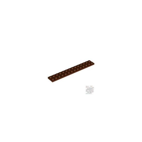 Lego Plate 2X14, Reddish brown