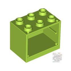 Lego CUPBOARD 2X3X2, Bright yellowish green