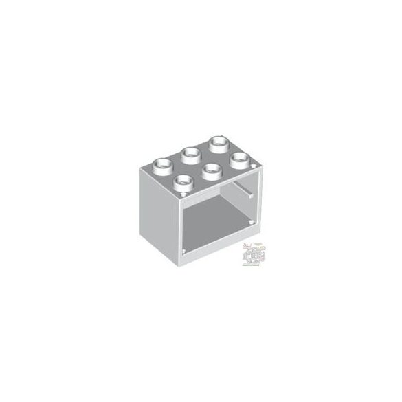Lego CUPBOARD 2X3X2, White
