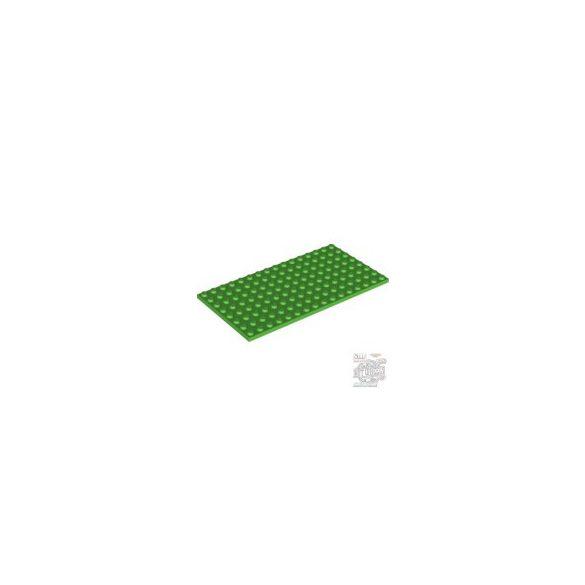 Lego Plate 8x16, Bright green
