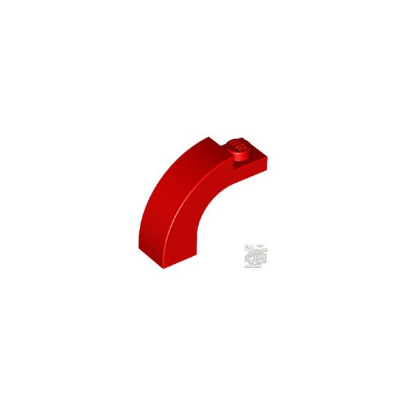 Lego BRICK 1X3X2 W/INS AND OUTS.BOW, Bright red
