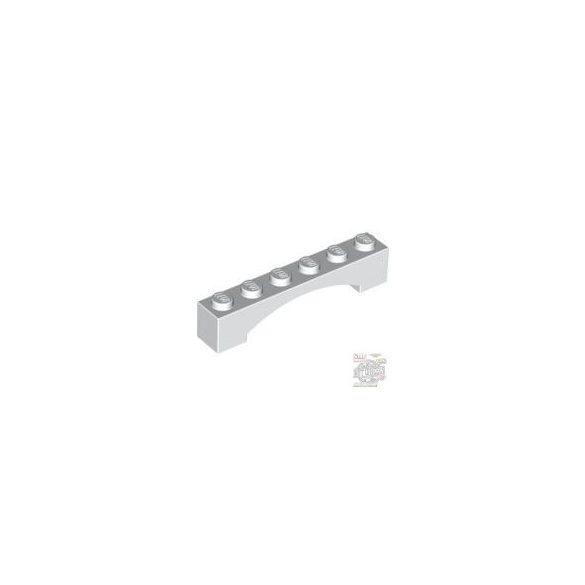 Lego BRICK 1X6 W/INSIDE BOW, White
