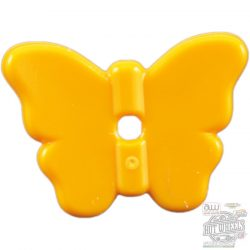 Lego Butterfly with Stud Holder, Yellow