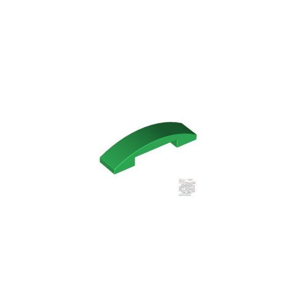 Lego PLATE W. BOW 1X4X2/3, Green