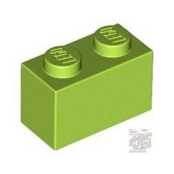 Lego BRICK 1X2, Bright yellowish green