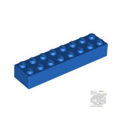 Lego Brick 2X8, Bright blue