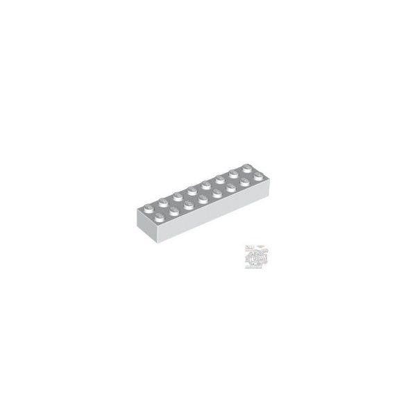 Lego Brick 2X8, White