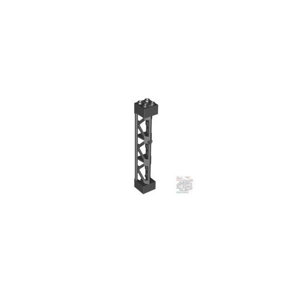 Lego Lattice Tower 2X2X10 W/Cross, Black