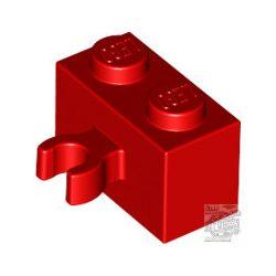 Lego BRICK 1X2 W. HORIZONTAL, Bright red