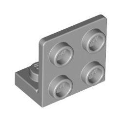 Lego ANGULAR PLATE 1.5 BOT. 1X2 2/2, Light grey