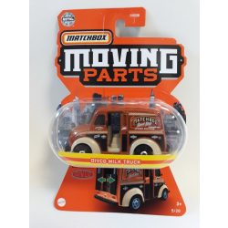 MATCHBOX Moving Parts Divco Milk Truck