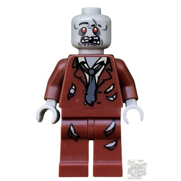 Lego figura Holiday & Event - Holloween - Zombie, Reddish Brown Suit