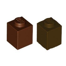 Lego alkatrészek Brown