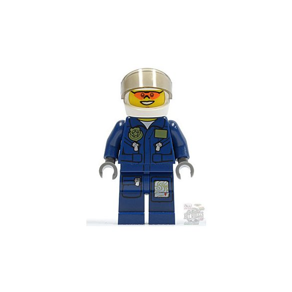 Lego figura City - Forest Police - Helicopter Pilot