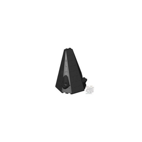 Lego Tower Roof W. Tiles, Black