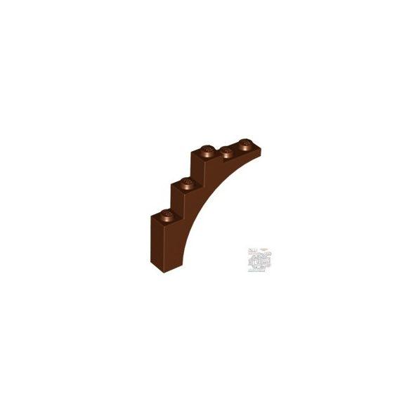 Lego Brick W. Bow 1X5X4, Reddish brown