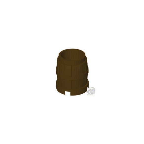 Lego Barrel 2x2, Dark brown