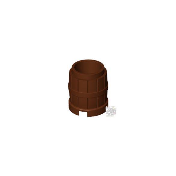 Lego Barrel 2x2, Reddish brown