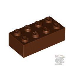 Lego Brick 2X4, Reddish brown