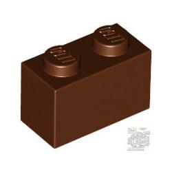 Lego Brick 1x2, Reddish brown