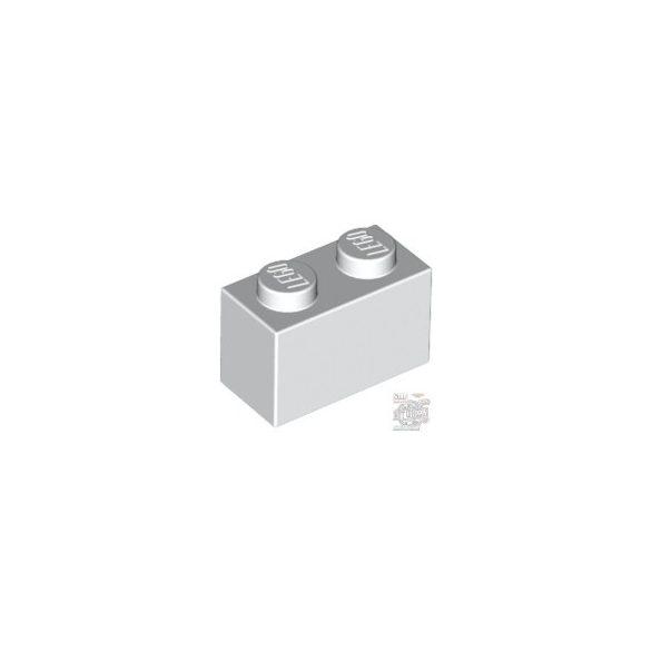 Lego Brick 1x2, White