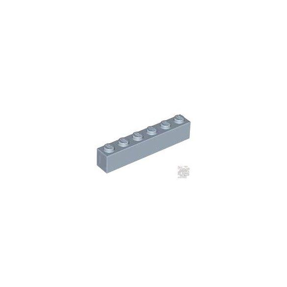 Lego Brick 1X6, Sand blue