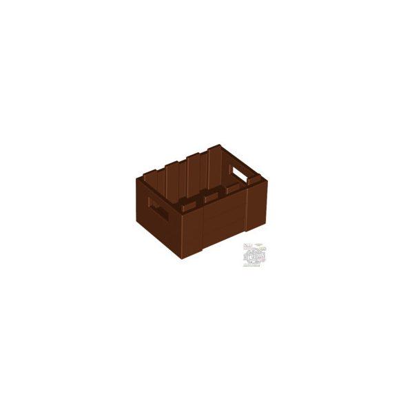 Lego Box 3X4, Reddish brown