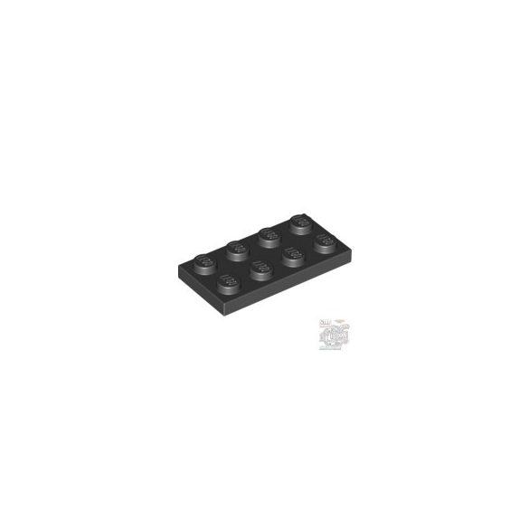 Lego Plate 2x4, Black