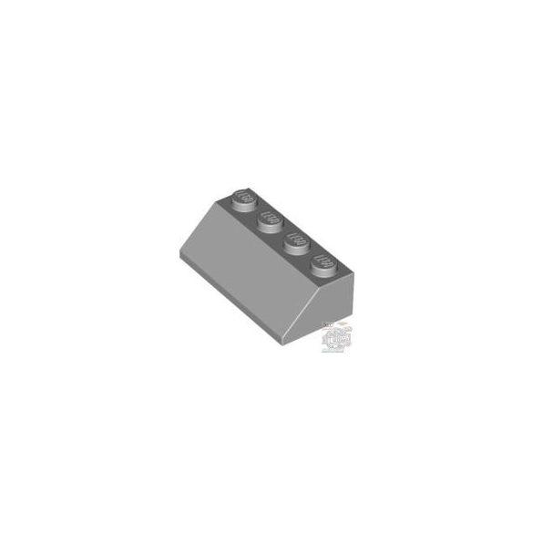 Lego Roof Tile 2X4/45°, Medium stone grey