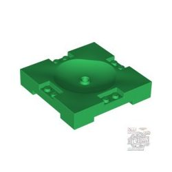 Lego Brick 8X8X1 1/3 W. Countersin., Green