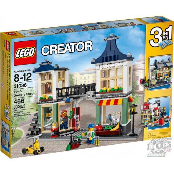 LEGO 31036 Creator Játék- és élelmiszerbolt