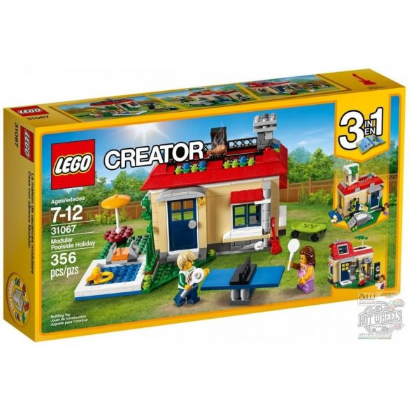 LEGO 31067 Creator Medencés vakáció