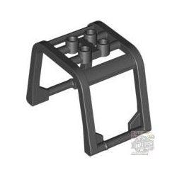 Lego Crash Bar 4X6X3, Black