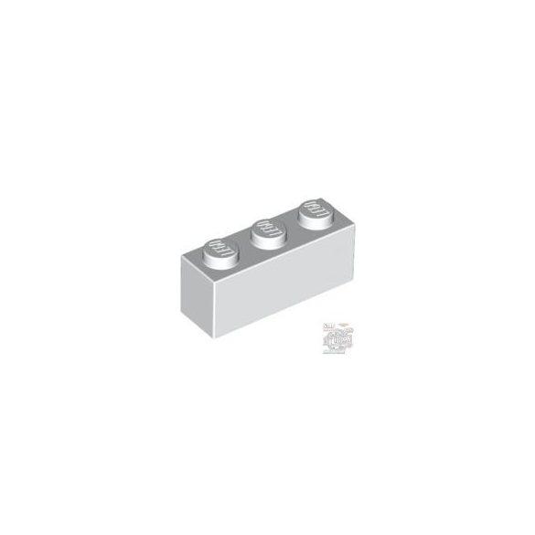Lego Brick 1X3, White