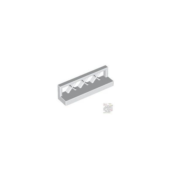 Lego Fence 1X4X1, White