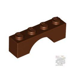 Lego Brick W. Bow 1X4, Reddish brown